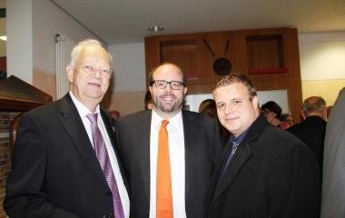 Dr. Norbert Herr, Matthias Kübel, Benjamin Tschesnok