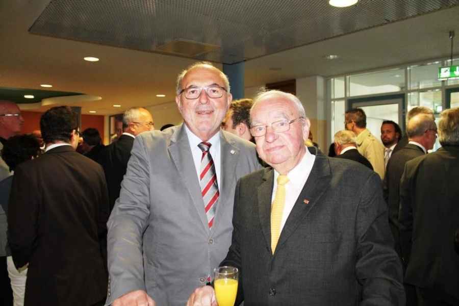 Edwin Balzter und Winfried Rippert von der MIT