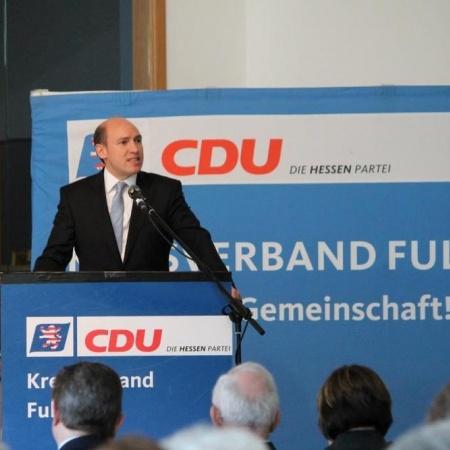 Generalsekretär der CDU Hessen, Manfred Pentz