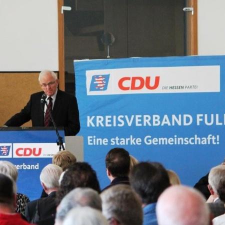 Ehrenvorsitzender Fritz Kramer hielt die Festrede