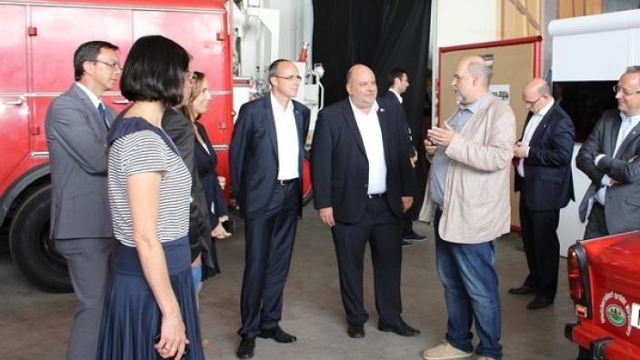 Arbeitskreis Innenpolitik besucht die Region