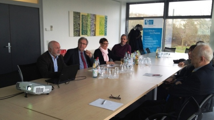 CDU-Kreistagsfraktion informiert sich über Sprachförderung an beruflichen Schulen