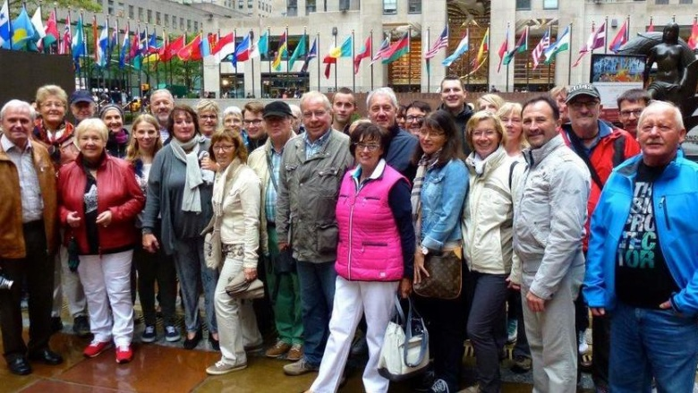 CDU-Reisefreunde in New York